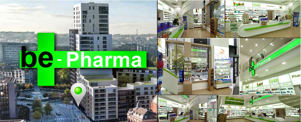 Be-Pharma.be est le prolongement virtuel de la Pharmacie Be-pharma