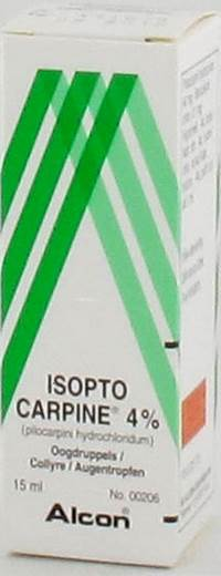 ISOPTO CARPINE 4 % COLLYRE 15ML