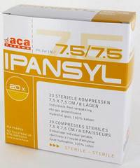 IPANSYL 3 CP STER 8PL  7,5X 7,5CM 20