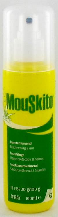 MOUSKITO REPEL SPRAY 100ML 20%