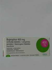 BUPROPHAR 400 MG DRAG 30 X 400 MG