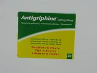 ANTIGRIPHINE COMP 20 X 500 MG