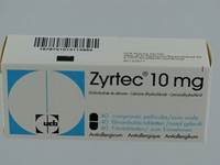 ZYRTEC 10 MG COMP PELL 40 X 10 MG