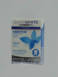 SUPERWHITE GOMME A MACHER CLASSIC S/SUCRE 20