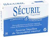 YALACTA SECURIL             CAPS 30
