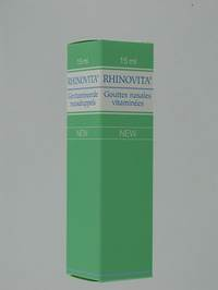 RHINOVITA NEW GUTT NASAL 15ML