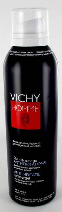 VICHY HOMME GEL DE RASAGE ANTI IRRIT. 150ML