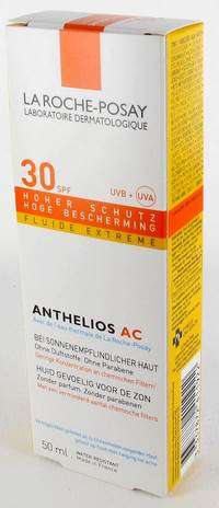 LRP ANTHELIOS FLUIDE AC IP30 50ML