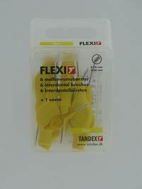 FLEXI YELLOW BROSSETTE FINE INTERDENTAIRE        6