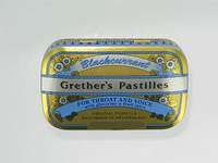GRETHER'S PASTILLES BLACKCURRANT DRAG 60G
