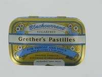GRETHER'S PASTILLES BLACKCURRANT SS      DRAG 60G