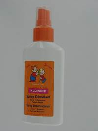 KLORANE PETIT JUNIOR SPRAY DEMELANT          125ML
