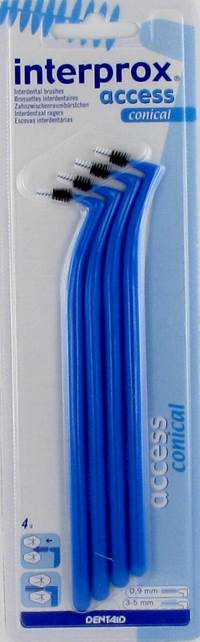 INTERPROX ACCESS CONIQUE BLEU INTERD.       4 1180