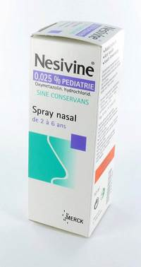 NESIVINE 0,025% SINE CONSERV PED SPRAY NAS 10ML