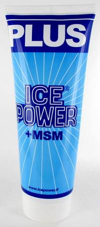 ICE POWER PLUS GEL       TUBE 200ML