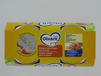 OLVARIT MELANGE DE FRUITS BANAN-OR-POIRE 6M 2X200G
