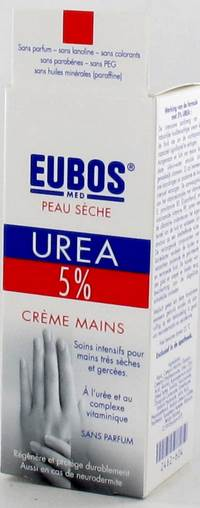 EUBOS CREME MAINS UREE 5% TUBE 75ML