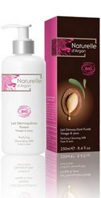 NATURELLE D ARGAN LAIT DEMAQ PURETE BIO      250ML