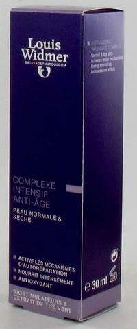 WIDMER CREME COMPLEXE INTENSIF ANTI-AGE       30ML