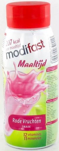 MODIFAST REPAS DRINK FRUITS ROUGES 250G