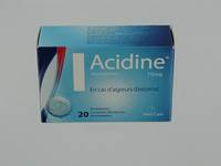 ACIDINE 75 MG COMP EFFERV. 20 X 75 MG