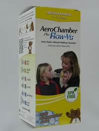 AEROCHAMBER PLUS A/STATIC+FLOW-VU-MASK CHILD