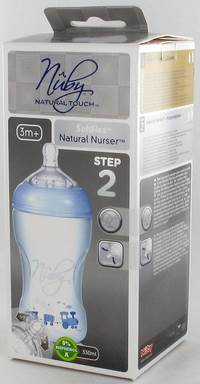 NUBY NT BIBERON PROPYL. 300ML + TETINE MEDIUM