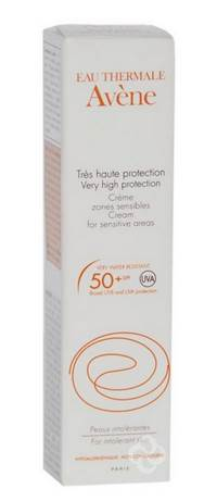AVENE SOL CR ZONE SENSIBLE IP50+ S/PARAB.     15ML