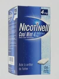 NICOTINELL COOL MINT 4 MG GOMMES A MACHER 96