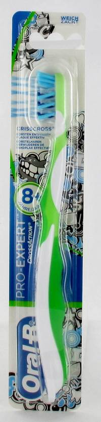 ORAL B TANDENB CROSSACTION JUNIOR 8+