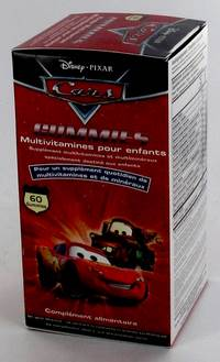 DISNEY MULTIVITAMINES ENF CARS             GUM. 60