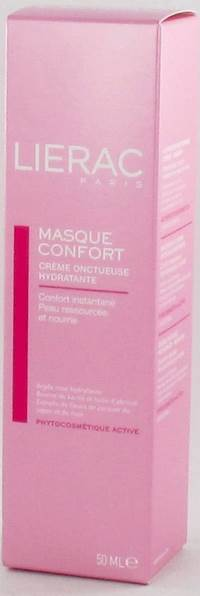 LIERAC MASQUE CONFORT CR ONCTUEUSE HYDRA TUBE 50ML