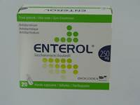 ENTEROL 250 MG CAPS HARDE DUR S/BLISTER 20X250MG