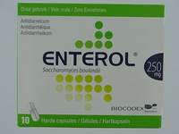 ENTEROL 250 MG CAPS HARDE DUR S/BLISTER 10X250MG