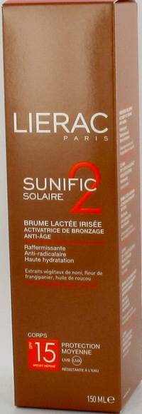 LIERAC SUNIFIC 2 IP15 BRUME A/AGE      SPRAY 150ML