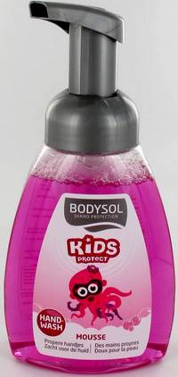 BODYSOL KIDS HANDWASH MOUSSE PASTEQUE 250ML