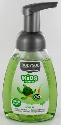 BODYSOL KIDS HANDWASH MOUSSE KIWI 250ML