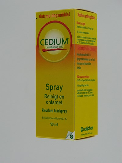 CEDIUM BENZALKONIUM SPRAY 50 ML