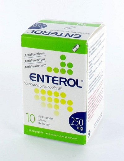 ENTEROL 250 MG CAPS HARDE DUR  10 X 250 MG