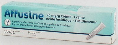 AFFUSINE 20 MG/G CREME TUBE 15 GR