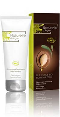 NATURELLE D ARGAN GOMMAGE RESOURCE OLEO-MINER.